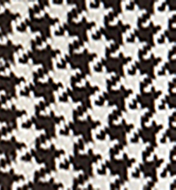 Mörkbrun/Benvit